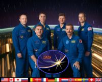 International Space Station Expedition 35 Official Crew Photograph